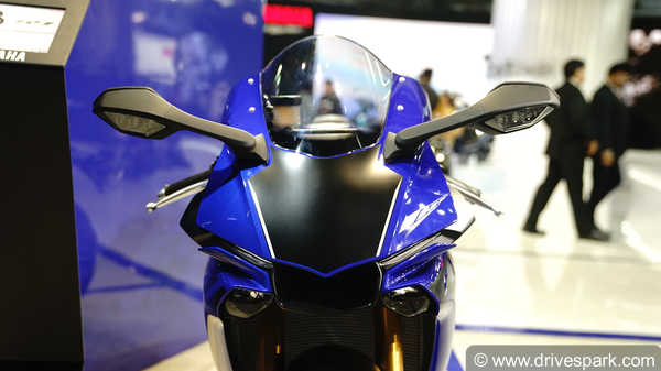 Auto Expo 2018: Yamaha Bikes & Scooters At Auto Expo; Unveils, Showcases, Concepts & Images