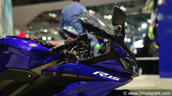 Yamaha YZF-R15 V3 0 First Look Review — Design, Specifications