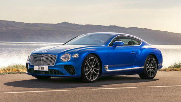 2018 Bentley Continental GT India Launch Date Revealed; Expected Price, Specs, Features & Images