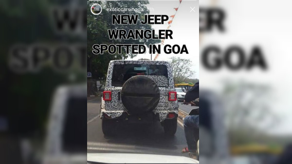 2018 Jeep Wrangler Spotted Testing In India — Specs, Features & Launch Details