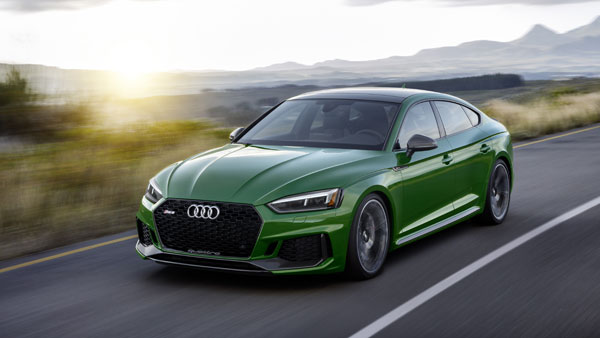 2018 New York Auto Show: New Audi RS5 Sportback Revealed — Specifications, Features & Images