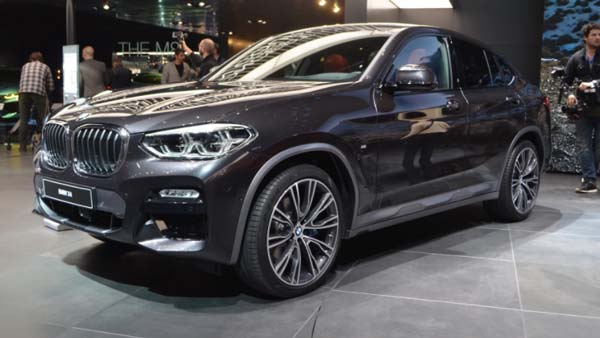2018 geneva motor show new generation bmw x4 showcased specifications features images. Black Bedroom Furniture Sets. Home Design Ideas