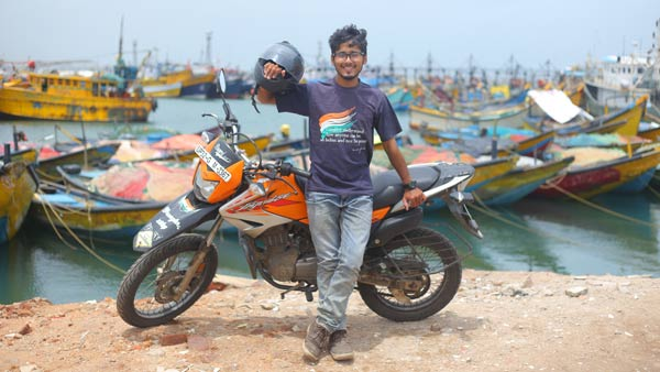 25-Year-Old Gaurav Siddharth Rides A Hero Impulse Into The Guinness World Records