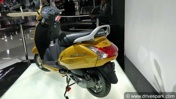 Honda Activa 5G Showcased Officially On Honda's Website