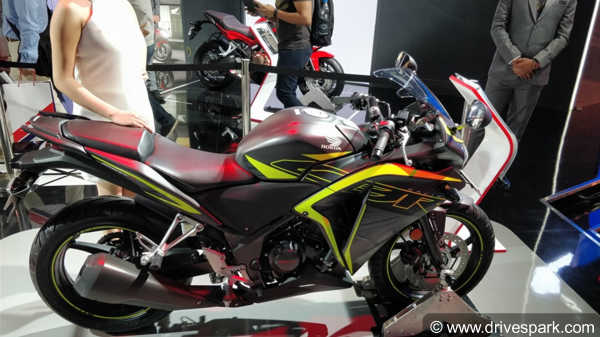 2018 Honda CBR250R Prices Revealed; Starts at Rs 1.63 Lakhs