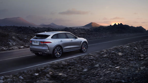 New Jaguar F-Pace SVR Revealed At New York Auto Show