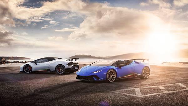 2018 Geneva Motor Show Lamborghini Huracan Performante Spyder