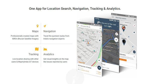 MapmyIndia Map App Launched In India: Built-in Navigation, Tracking