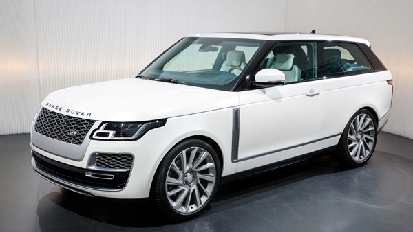 2018 Geneva Motor Show: Range Rover SV Coupe Revealed - Specifications, Features & Images
