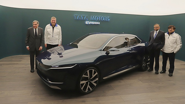 Tata EVision Electric Sedan Concept — What's So Special About Tata's