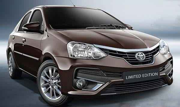 Toyota Etios Platinum Limited Edition Launched In India; Prices Start At Rs 7.84 Lakh - Specs, Features, Images & Details