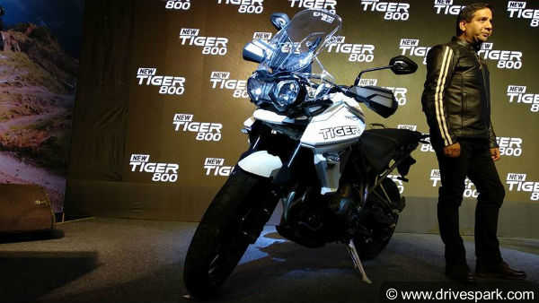 Triumph Motorcycles launches Tiger 800 bikes range priced upto Rs13.76 lakh
