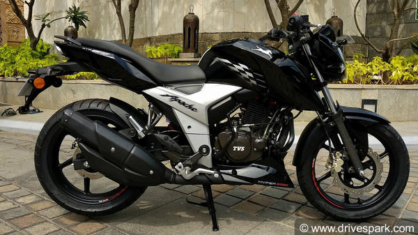 2018 tvs apache rtr 160 4v first look review � design