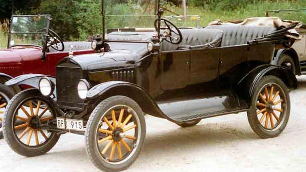 The Ford Model T Came In Only Black For Several Years — Here's Why!