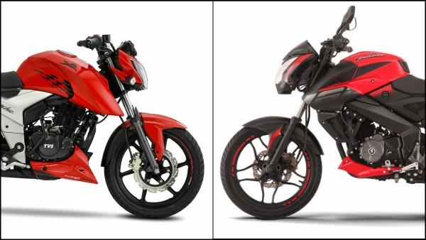 2018 TVS Apache RTR 160 4V Vs. Bajaj Pulsar NS160 Comparison: Specs, Price, Mileage & Features