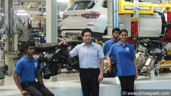 BMW India SkillNext Launched By Sachin Tendulkar — BMW Chennai Plant Celebrates Its 11th Anniversary