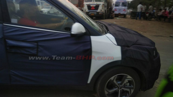 Hyundai Creta 2018 Facelift Spotted Testing — Shows Off New Features
