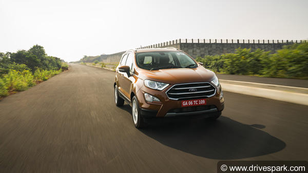 Ford EcoSport Petrol Titanium+ Trim Gets 5-Speed Manual Gearbox