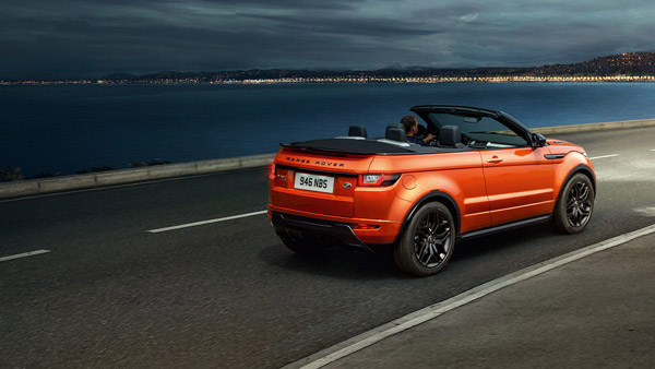 Range Rover Evoque Convertible India Launch Date Revealed Expected