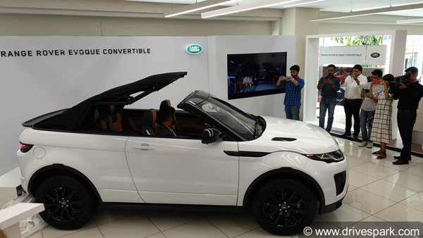 Range Rover Evoque Convertible Launched In India At Rs 69.53 Lakh: Specifications, Features And Images