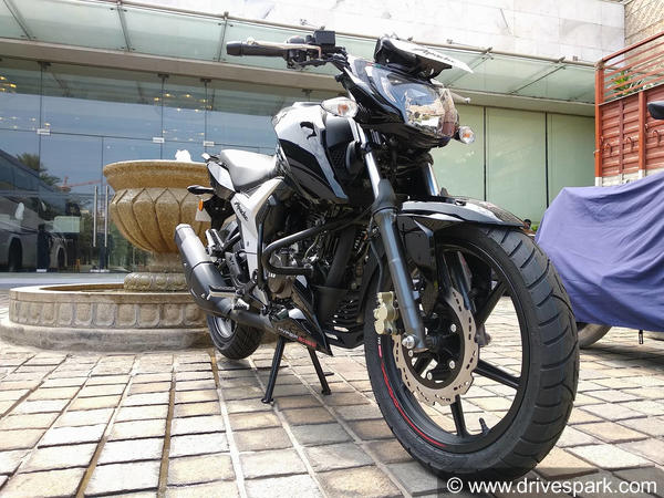TVS Motor launches new Apache