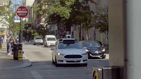 Uber Self Driving Car Francisco Crashes