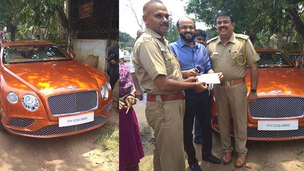 Bentley Continental Gt Owner Pays Rs 60 Lakh For Re Registration