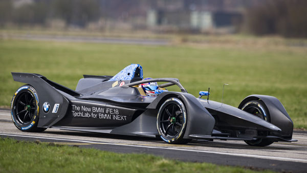 BMW's First Formula E Car Makes World Debut; Public Demonstration To Be Held In Berlin
