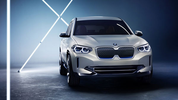 BMW iX3 Electric SUV Revealed At Beijing Motor Show