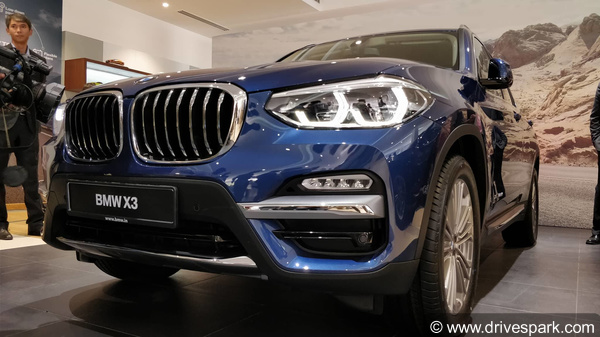2018 BMW X3 Launched In India; Prices Start At Rs 49.99 Lakh