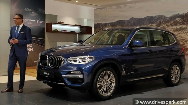2018 Bmw X3 Launched In India Prices Start At Rs 49 99 Lakh