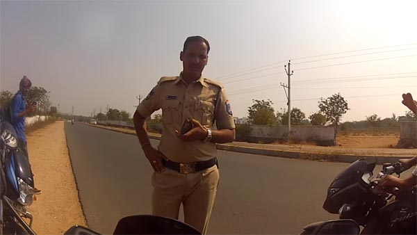 Telangana Cops Harass Bikers For Riding With Proper Gear — A Honda Navi Was One Of The 'Fast Bikes'