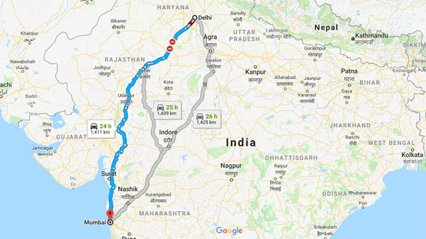 India To Get Super Expressway Soon; To connect Delhi And Mumbai