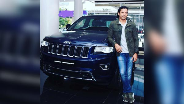 Farhan Akhtar Gets Himself A New Ride — A Jeep Grand Cherokee SUV!