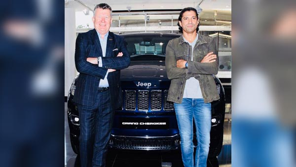 Farhan Akhtar Purchases The Jeep Grand Cherokee SUV
