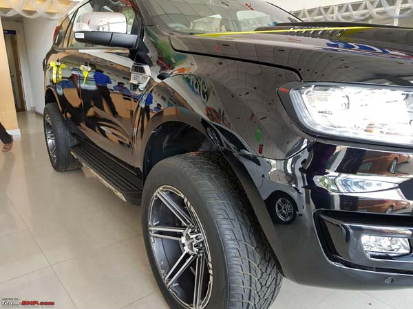 Ford Endeavour Modified By Dealership — Has The Ford Dealership In Odisha Done A Good Job?