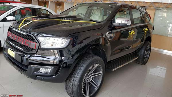 The Latest Ford Endeavour Modification In The Country What Do You