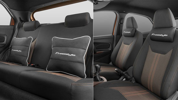 Ford Freestyle Accessories List: Body Stripe, Spoiler, Seat Covers, Ambient Lighting, Roof Cross Bars & More