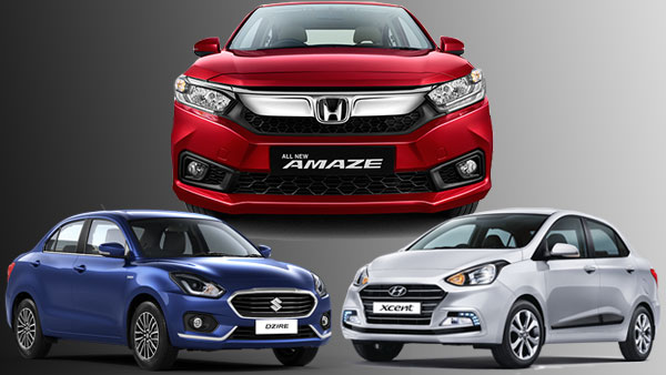 Honda Amaze 2018 Vs Maruti Dzire Vs Hyundai Xcent Comparison Which