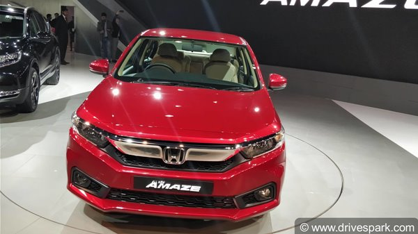 New Honda Amaze 2018 Launch Date Confirmed; Expected Price, Features, Specifications & Images