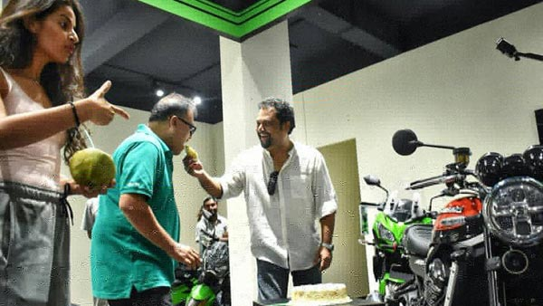 India's First Kawasaki Z900RS Gets Delivered In Mangalore