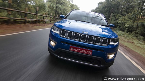 Jeep Compass Sells 20,000 Units In India Since Its Launch