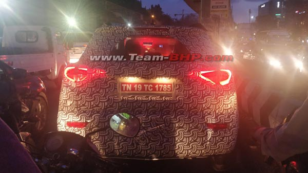 New Mahindra S201 SUV Spotted Testing; Based On The Ssangyong Tivoli