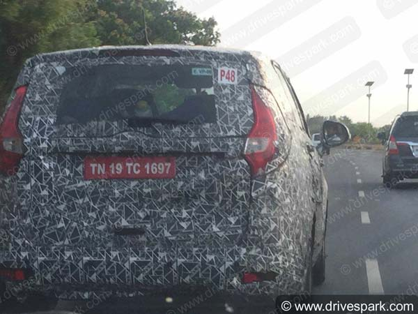 Exclusive: Mahindra U321 MPV Spotted Testing In Chennai
