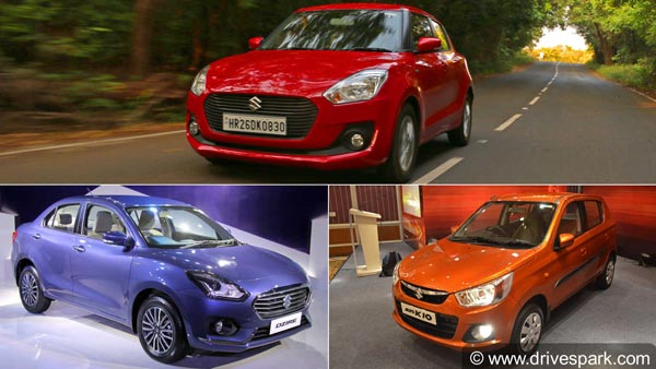 Maruti Cars Become The Top Five Cars Sold In India — Here Are The Top 5 Maruti Models