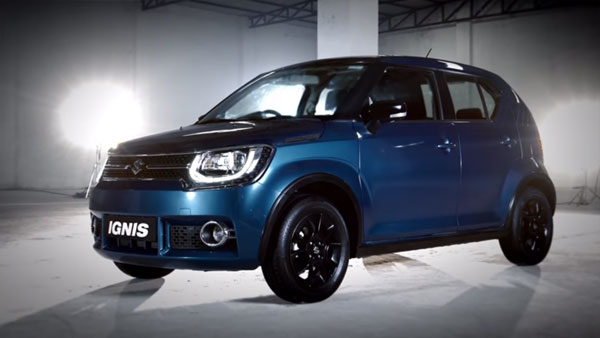 Maruti Ignis And Baleno To Feature A New 'Nexa Blue' Colour Scheme