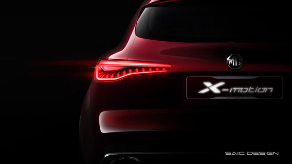 MG Motor Tease New X-Motion SUV Concept; Possible India Launch