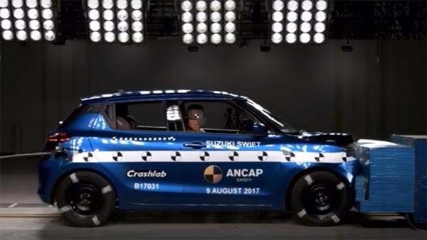 New Maruti Swift Crash Test Results From Euro NCAP