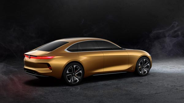 Pininfarina H500 Electric Concept Sedan Revealed At Beijing Motor Show