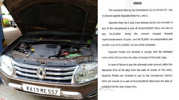 Renault Duster Problems — Court Orders Renault Dealership To